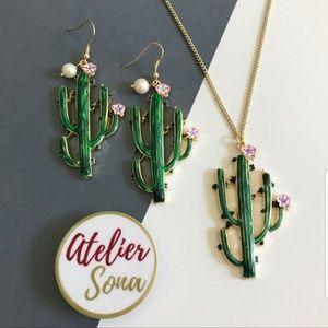 Blooming Cactus Necklace